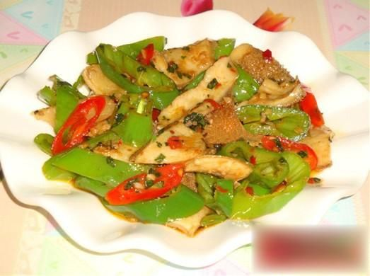 Fried Beef Tripe Recipe   ... beef tripe with Chinese Recipe,How to cook Chilli sauteed beef tripe