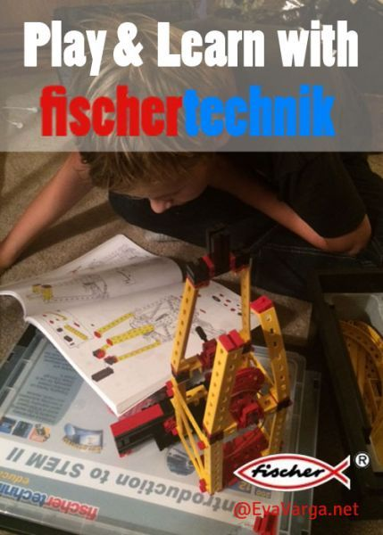 "I am excited to share with you fishchertechnik's pair of new educational building products, the fischertechnik Education ""Introduction to STEM"" I & II."