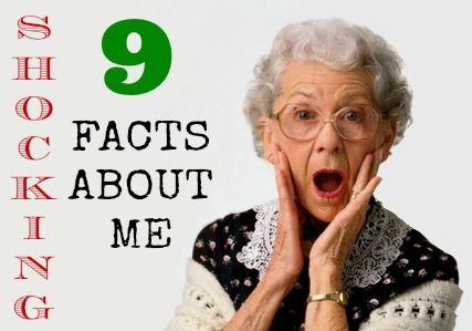 TAG: 9 (šokujících) faktů o mě