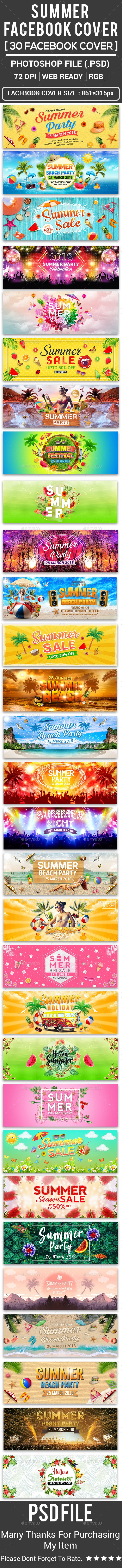 Summer Facebook Cover
