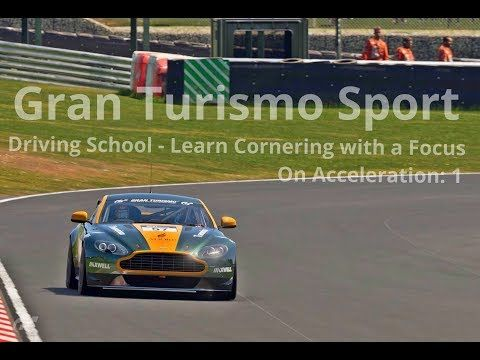 New video! #granturismosport #gtsport #gtplanet #sony #ps4 #ps4pro #playstation #simulator #game #games #drivingschool #learn #cornering #corner #focus #acceleration #astonmartin #vantage #vantagegr4 #racecar #cars #tracks #online #roadracing #rallyracing #tutorial #gtsportgameplay