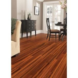 Home Legend Exotic Tigerwood 5/8 in. Thick x 5 in. Wide x 40-1/8 in. Length Solid Bamboo Flooring (22.29 sq. ft. / case)-HL401 at The Home D... - but its solid, not woven