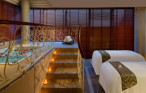 The Raffles Spa is offering the Ultimate Indulgence couples treatment to celebrate the month of love this February.