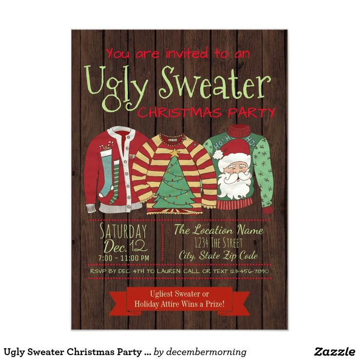 203 best Christmas Party Invitations images on Pinterest | Christmas ...