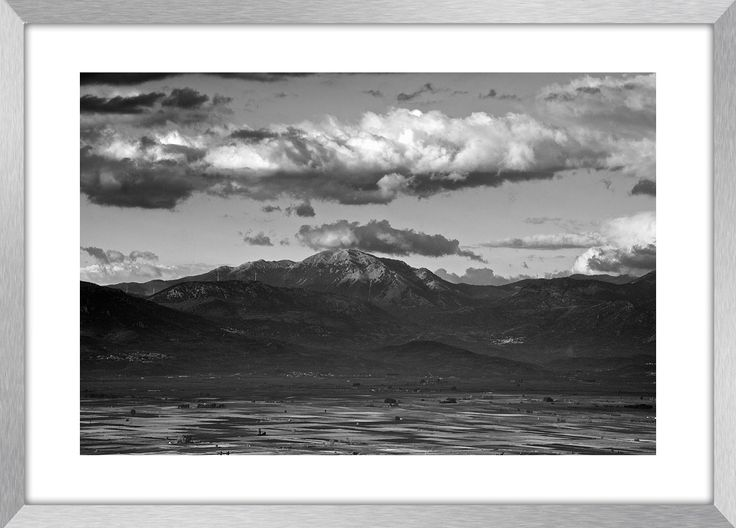 HELICON MOUNTAIN | Fine art Landscape photography, mountains, clouds, Greece, wall art, fine art print, canvas prints by KBphotostudio on Etsy