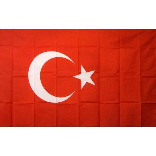 Turkey Country Traditional Flag