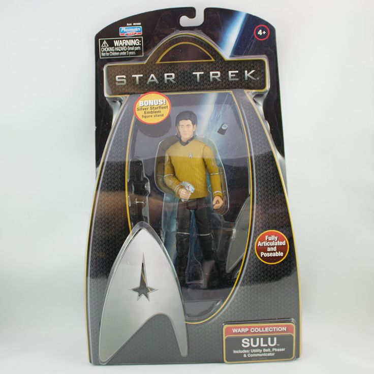 Sulu, Includes: utility belt, phaser & communicator