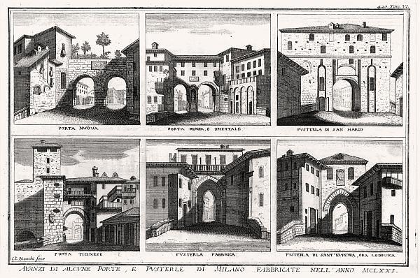 Le porte di Milano
