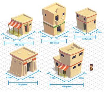 Indiana Jones Adventure World - Egypt village homes