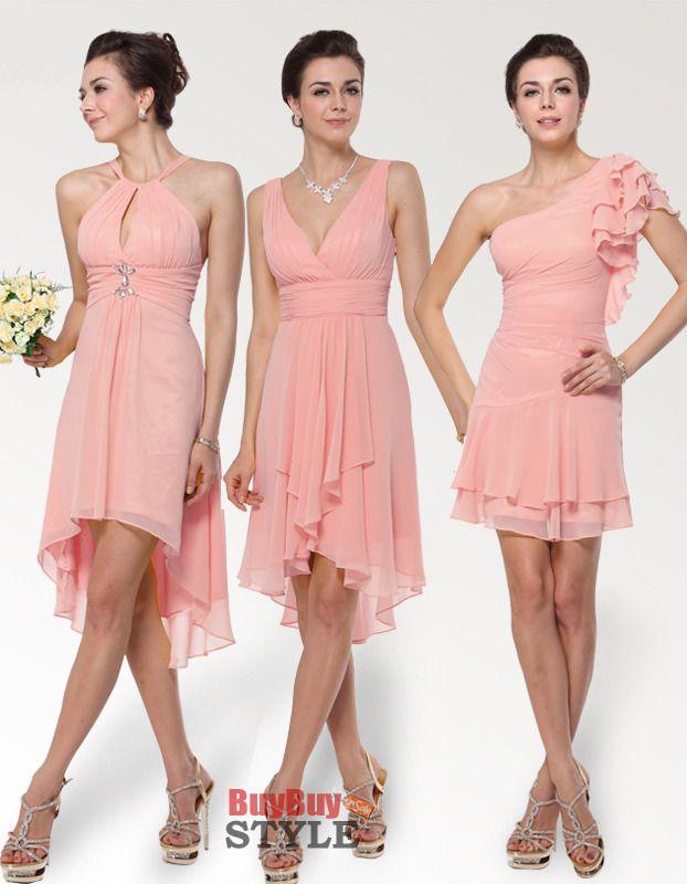 91 best Bridesmaid Dresses images on Pinterest   Party wear dresses ...