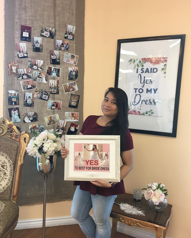 Look who said YES to the dress. Congratulations and best wishes to Angelene Florence Bonifacio. Your Bridal Consultant: Pamela  Check out more brides who said Yes to The Dress here: http://crwd.fr/2wtydQ5. . #bestforbride #weddingtoronto #hamiltonwedding #weddingbarrie #weddinghamilton #yestothedress