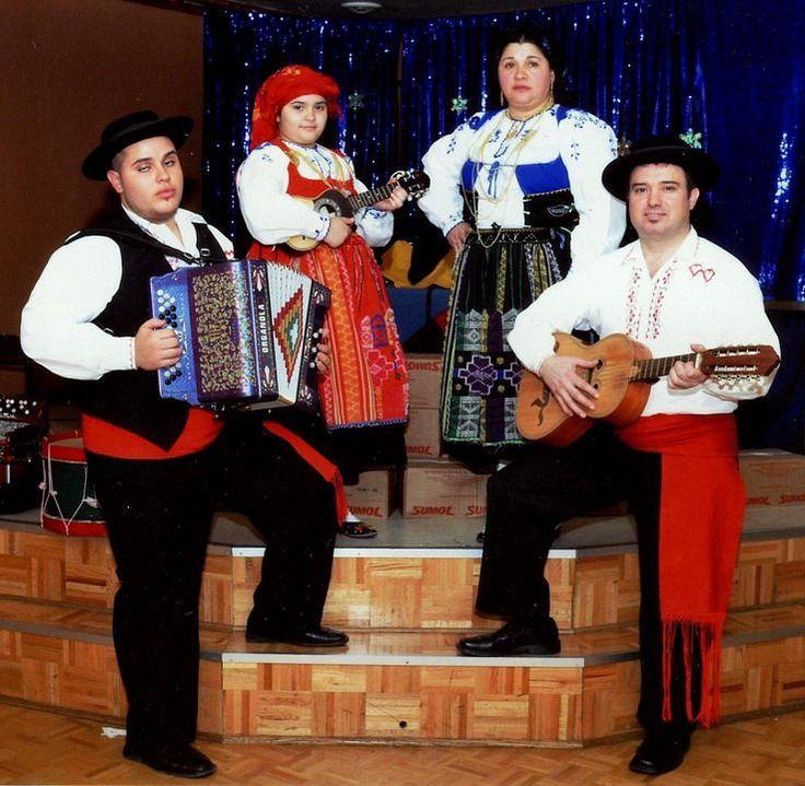 costume portugais folklorique