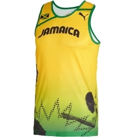 Puma Jamaica  Men Track & Field London 2012 Olympic Usain Bolt Singlet