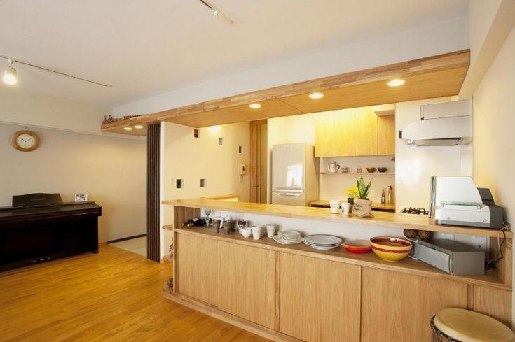 キッチン(T邸・休日はおうちカフェで・・・) - キッチン事例|SUVACO(スバコ)