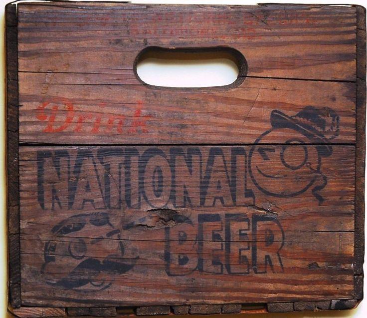 Original 1940s National Bohemian Beer Art / Natty Boh / Baltimore