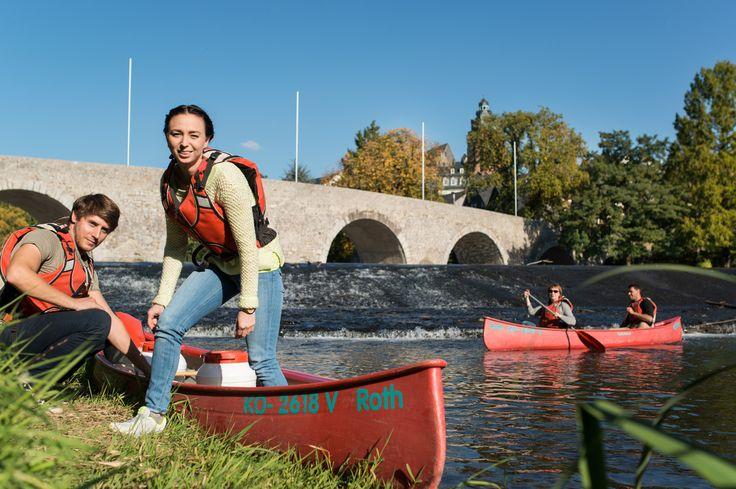 Romantik und Abenteuer, sportlich und entschleunigend, Natur und Kultur - all das bieten Ihnen Paddeltouren auf Hessens Flüßen.  (c) Hessen Agentur, Paavo Blåfield