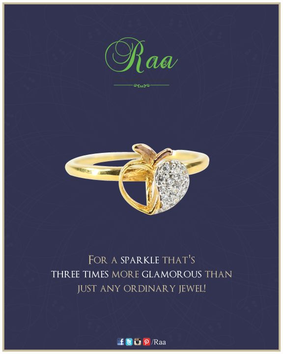 For the apple of your eyes !  ‪#‎diamonds‬ ‪#‎yellowgold‬ ‪#‎ring‬ ‪#‎jewelry‬ ‪#‎customized‬ ‪#‎raa‬ ‪#‎chennai‬