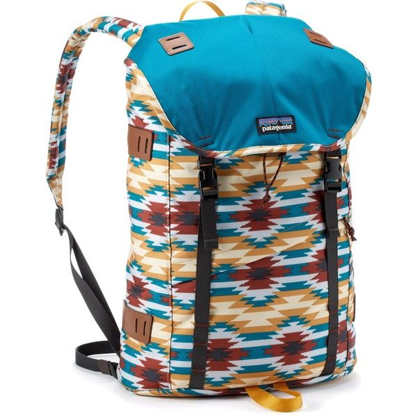 Patagonia Arbor Pack ($99) ❤ liked on Polyvore featuring bags, padded backpack, patagonia, rucksack bag, backpacks bags and padded bag