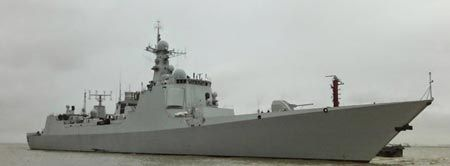 Destroyer Xian in late 2014.China now has more destroyers with Aegis Combat System equivalent capability than Japan after the Xian, the country's sixth Type 052C destroyer entered service on Feb. 9, reports the People's Navy Daily, a paper published by the People's Liberation Army Navy. In addition to the six Type 052C destroyers, the PLA also has the Type 052D guided-missile destroyer or Kunming class, which uses Active Phased Array Radar.