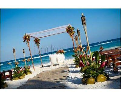 Tips de un coordinador de bodas: Diferentes decoraciones para Boda en Playa