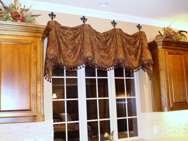 Valance  Over Kitchen Sink?? Balloon ValancesDrapes ValancesBedroom ...