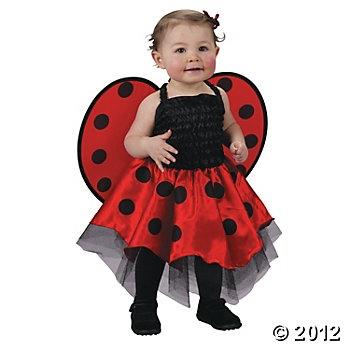 Ladybug Infant Girl's Costume