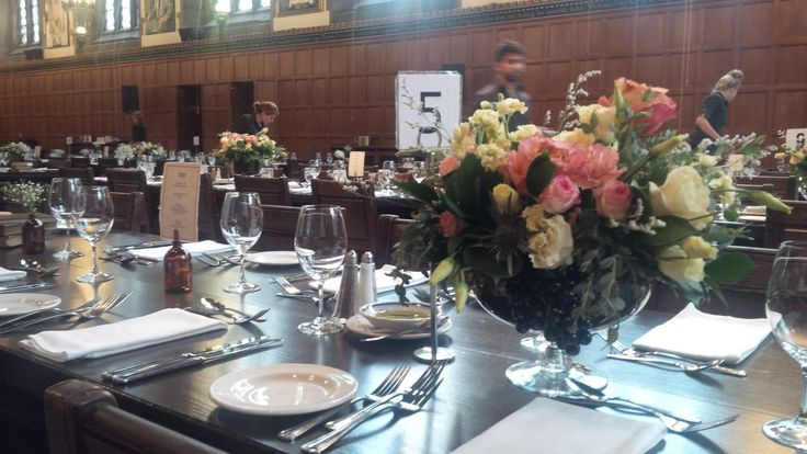A wedding table.
