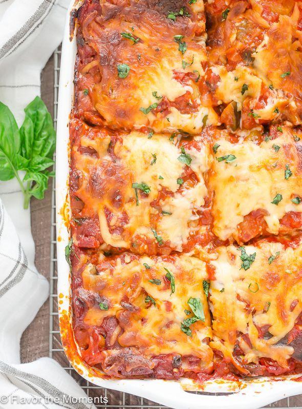 Ratatouille Lasagna is lasagna layered with a ratatouille inspired pasta sauce…