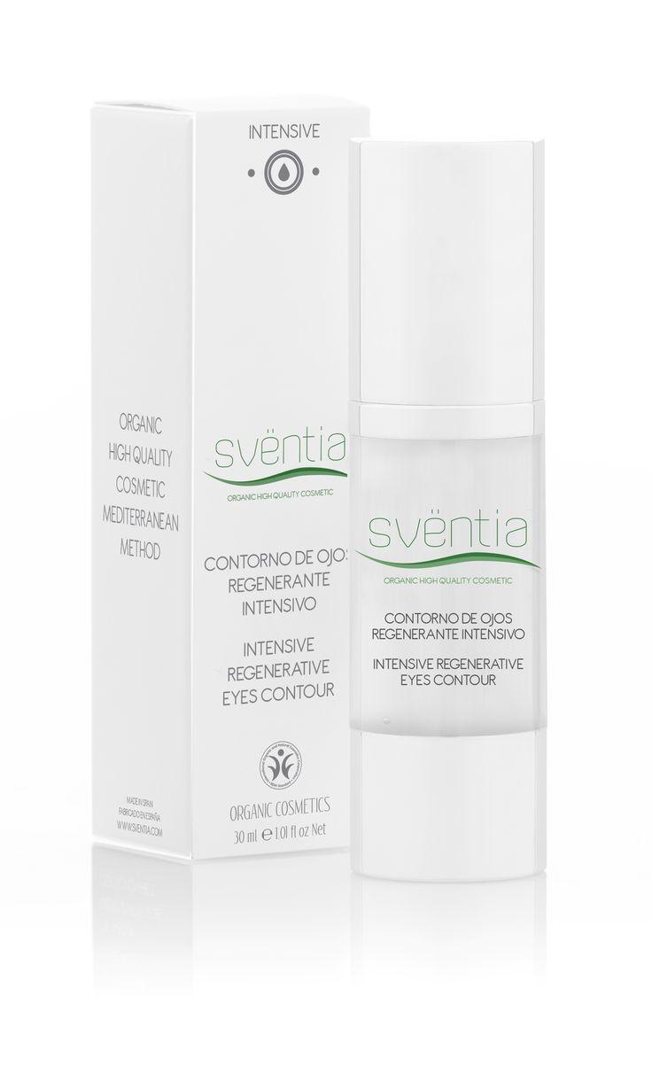 Sventia Intensive eye contour cream 30ml/inovatívna anti-age očná starostlivosť, prírodná a organická kozmetika - certifikát BDIH