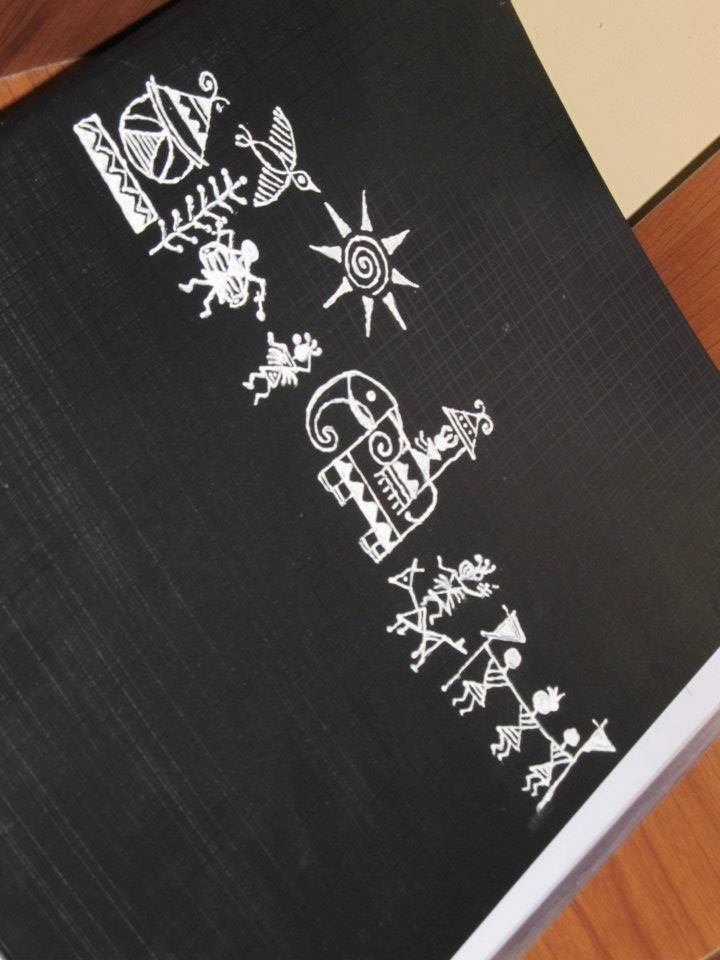 warli painting by idiotic creationz (File/Folder)