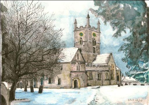 Bishops Cleeve Church