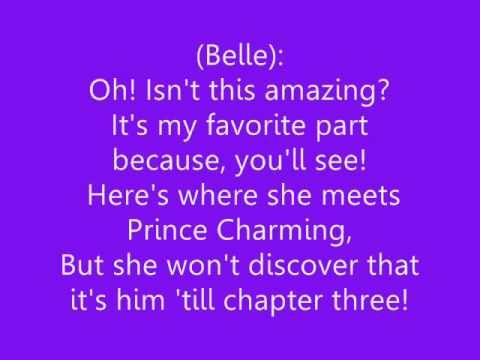 ♫ Beauty and the Beast - 'Belle' Lyrics ♫  i want to know what this book is
