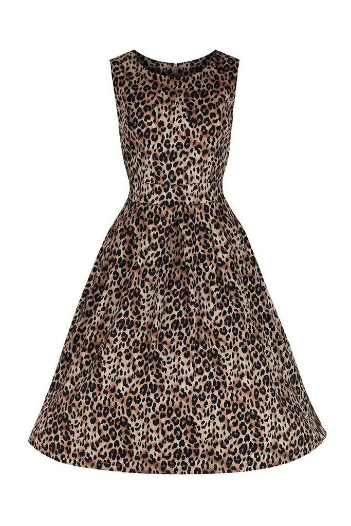 Leopard Print Audrey Swing Dress