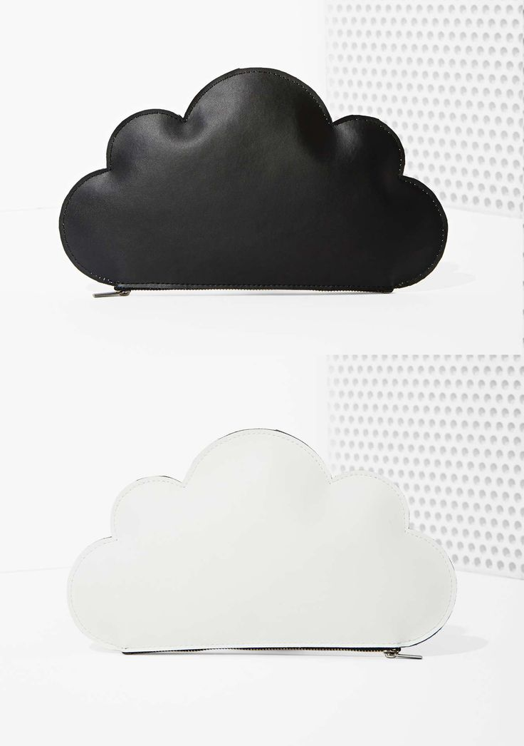 Cloud Up Leather Clutch