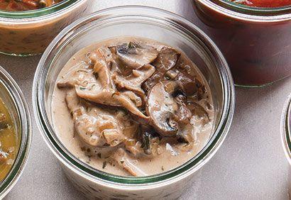 Sauce aux champignons - très bon sur des pâtes - coup de pouce
