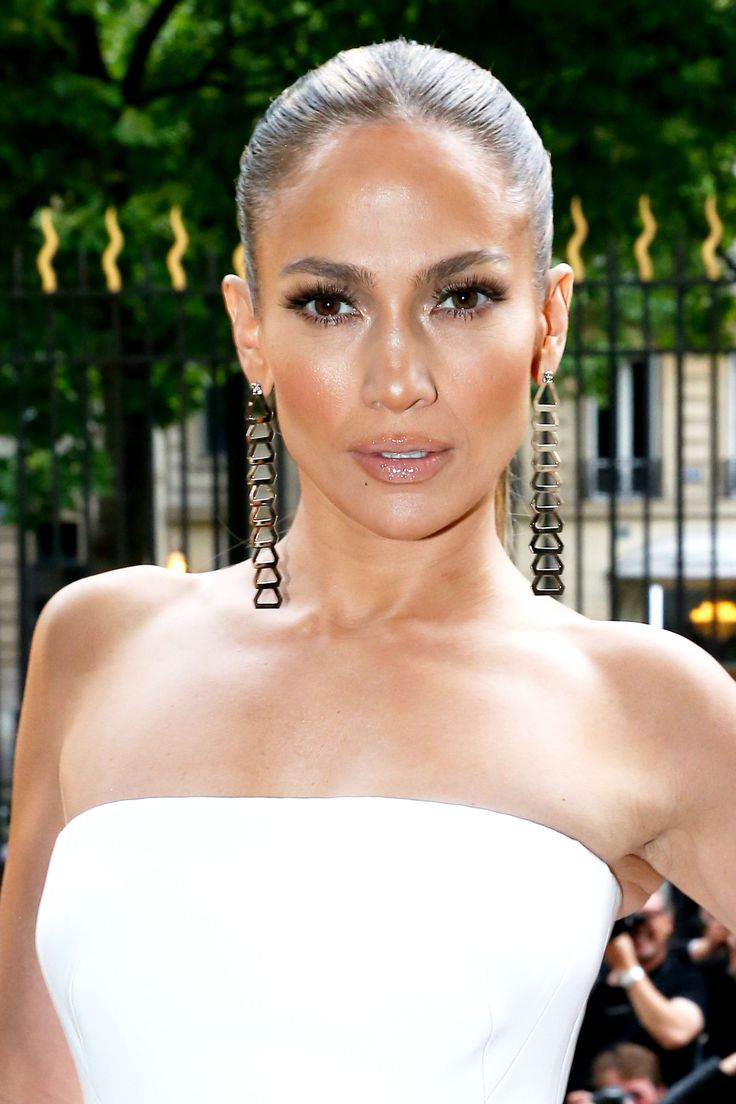 Sigh—J.Lo manages to look airbrushed at ALL times. (And it's not just photos—trust us, she looks this way in person, too. Literally like an angel.) It's been widely reported that the secret behind her bronzed glow is applying La Mer Moisturizing Cream head-to-toe. For a less costly option, look to a drugstore favorite like Nivea Soft Moisturizing Cream. - MarieClaire.com