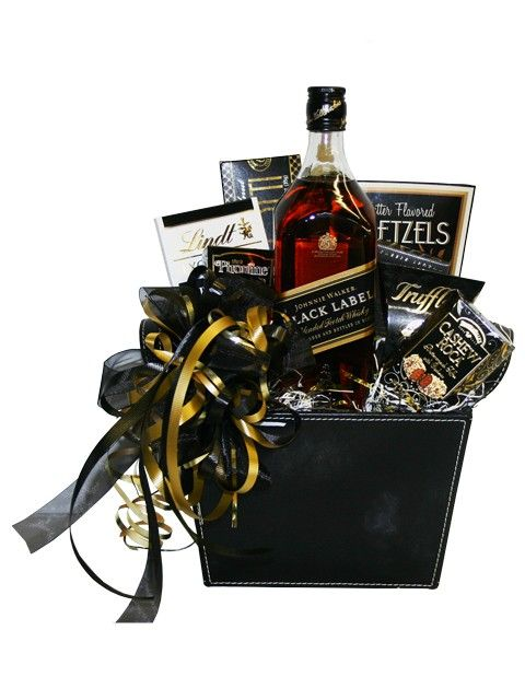 Johnnie Walker Black Scotch Gift Basket
