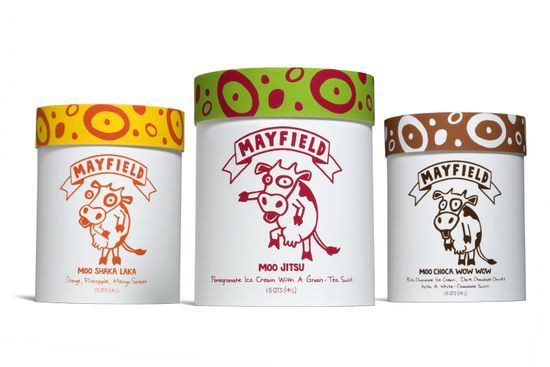 Mayfield Ice Cream Packaging_Ben Krantz