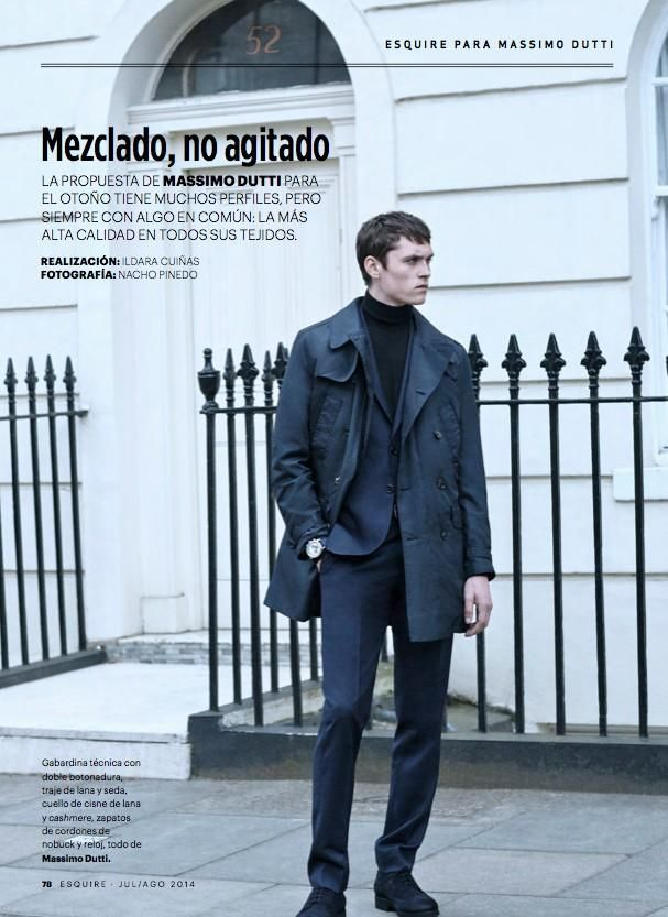 Mezclado, no agitado. (Esquire Spain)