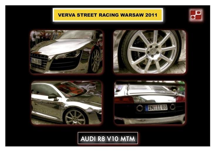 Audi R8 V10 on Verva Street Racing Warsaw 2011