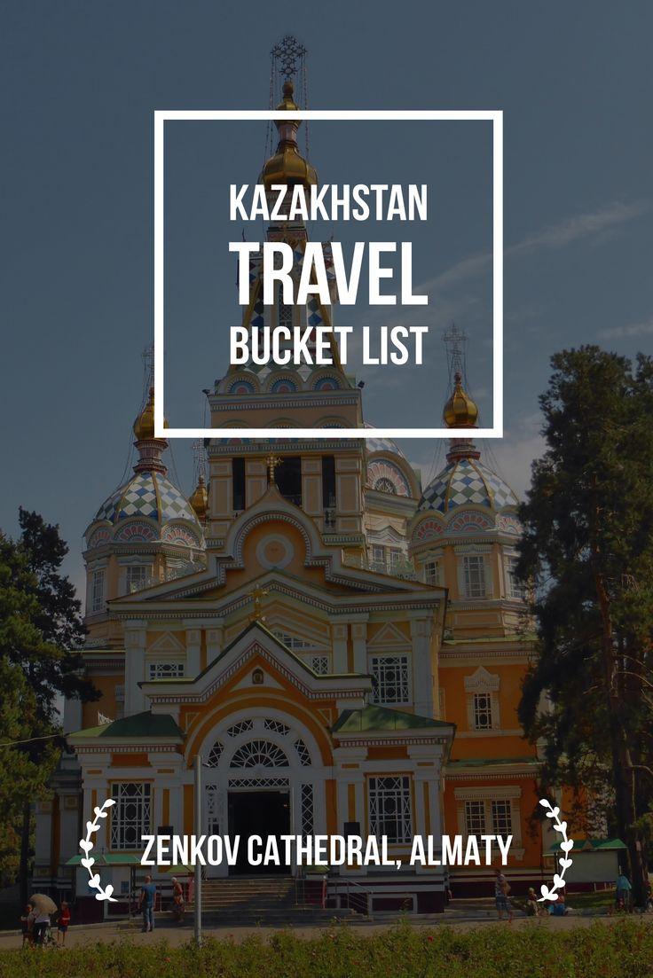 Almaty, Kazakhstan Bucket List: Zenkov Cathedral. Kazakhstan Travel Bucket List: Explore Central Asia with Kalpak Travel