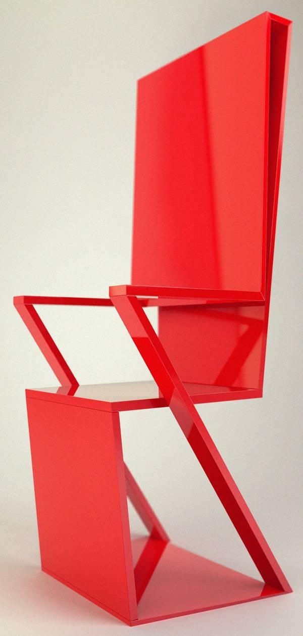 Mondriz Chair Design By Dideia. Unusual FurnitureModern FurnitureRed ...