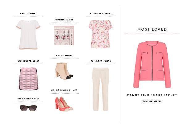 Candy Pink Smart Jacket