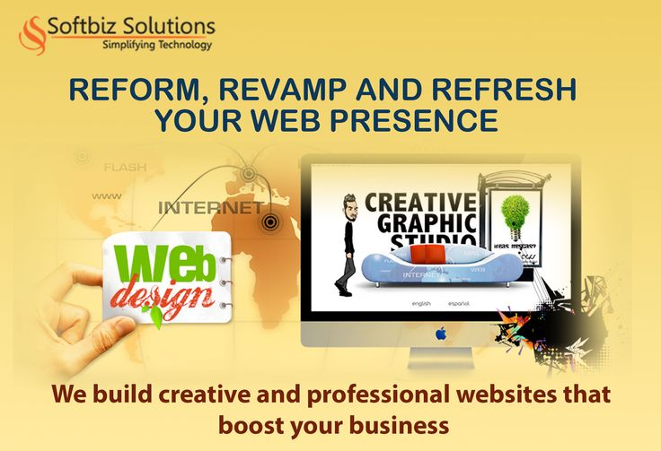 Smart and stunning designs that portray your brand identity: http://www.softbiztech.com/web-design.html