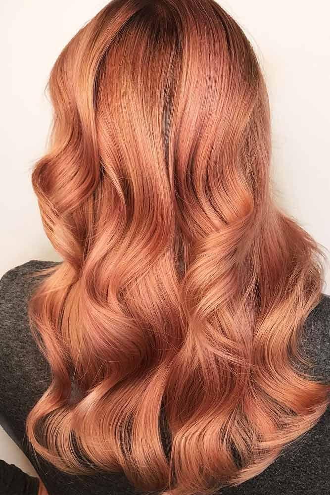 36 Breathtaking Rose Gold Hair Ideas