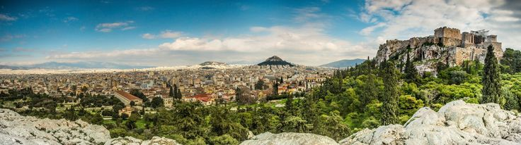 Athens panoramic view by Nestor Moc on 500px