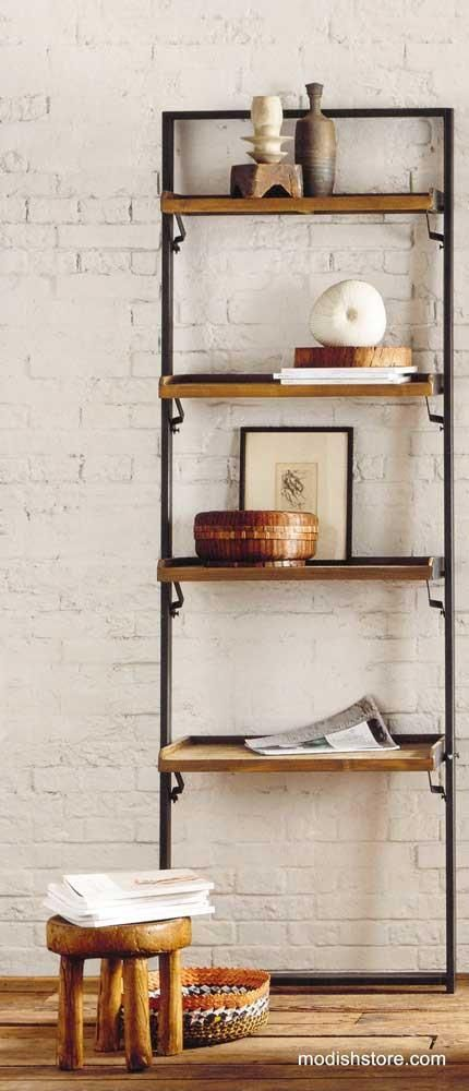 $1,049.00 Roost Recycled Teak Leaning Shelf
