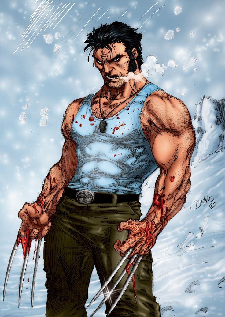 Wolverine, once known as James Howlett (later changed to Logan), is the ultimate display of hegemonic masculinity. Logan possess mutated health (ability to heal himself), incredible physique, hard-working, powerful, and an incredible ability to control his emotions.