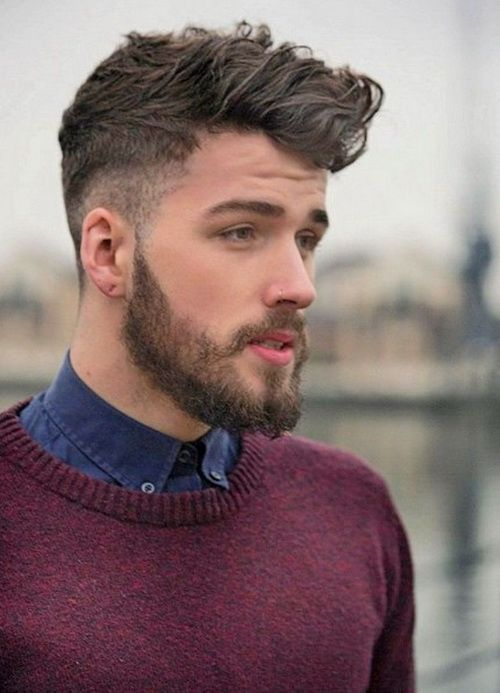 Mohawk Curly Hairstyles for Men 2016