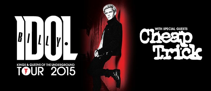 Whoohoo I am going to see Billy Idol in concert!! Sweet!! Best #Xmaspresents